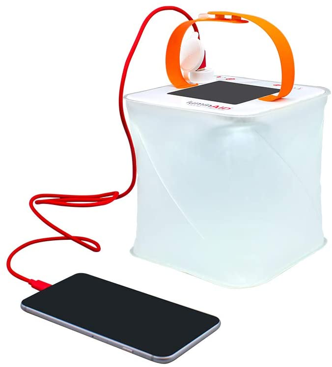 phone charger and lantern for outdoor camping