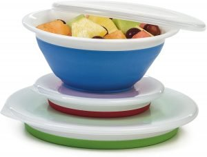 collapsible storage bowls for rv camping