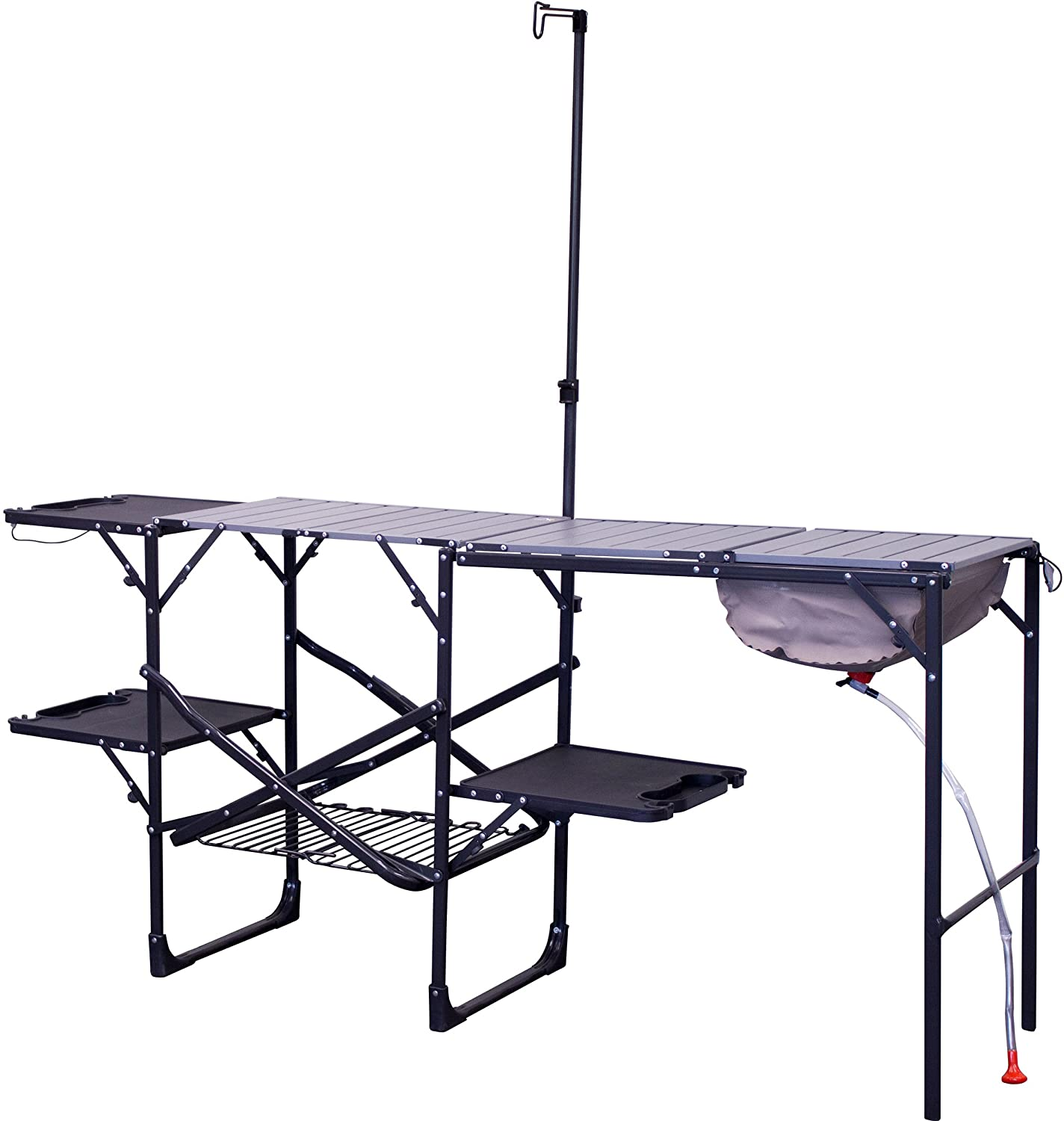 portable folding camp kitchen for camping outdoors
