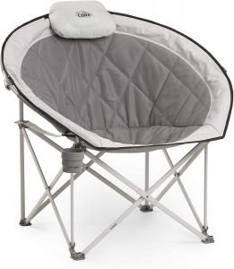 oversized padded folding chair for family outdoor camping