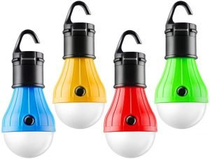 portable led emergency lights for outdoor family camping