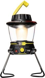 solar lantern with hand crank for tent camping outdoors