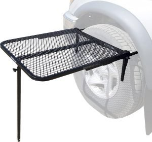 steel tire table for rv camping