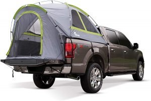 a truck tent for tent camping outdoors