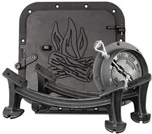 this barrel camping stove kit is a great hardy camping stove