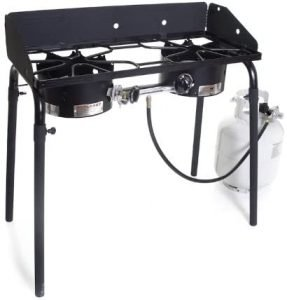 the camp chef double burner stove is one of the best portable camping stoves