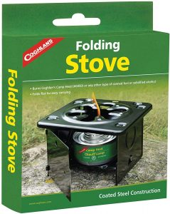 the coughlans folding stove is a great portable camping stove