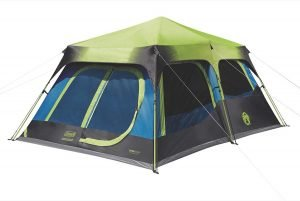 the coleman cabin tent is one of the best tents for camping