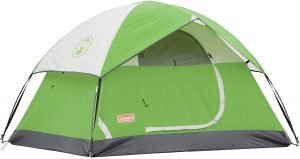 coleman sundome tent is one of the best tents for camping