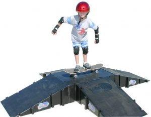 landwave pyramid skateboard ramp for sale