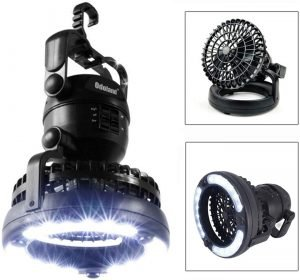 the odoland portable led lantern is one the best lanterns for camping