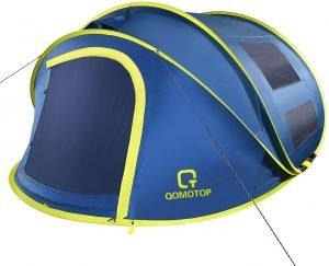 the ot qomotop pop up tent is a great lightweight camping tent