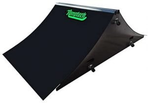 ramptech 2x4 quarterpipe with rail skateboard ramp for sale