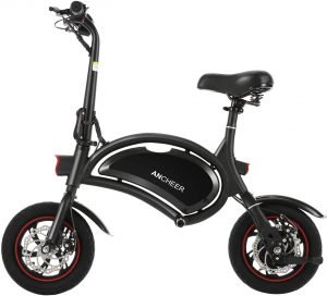the ancheer folding electric bike is an awesome commuter ebike for around town