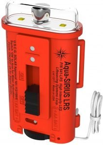 the aqua sirius lrs water-activated signaling strobe is a top-rated and trusted sos distress signal device