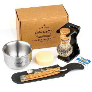 Annbbas straight razor shaving kit