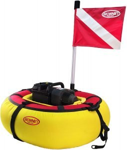 The Brownie's Third Lung Sea Lion Battery Floating Hookah Dive System 3 Diver Package is an excellent hookah dive system