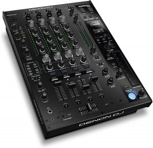the denon dj pro 4-channel mixer is one of the best dj mixing boards available on the market