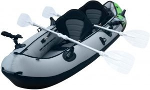 the elkton outdoors 2-person tandem kayak is one of the most popular and best inflatable kayaks available on the market