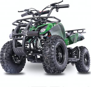 The Fit Right 2020 Sonora Kids 24V Mini Quad ATV, Dirt Motor Electric Four Wheeler