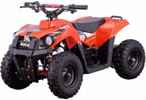 The Go-Bowen Monster 500W 36V Electric Kids Ride-On Mini Quad ATV