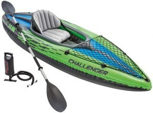 the intex challenger is one of the most popular and best inflatable kayaks available on the market