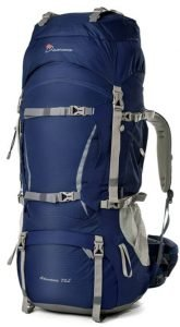 the mountaintop 70l internal frame pack is an excellent choice for a backpacking pack or hiking backpack