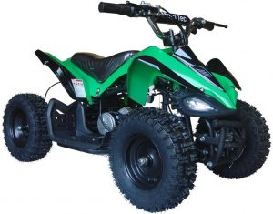 The MotoTec Kids Mini Quad V2 24v