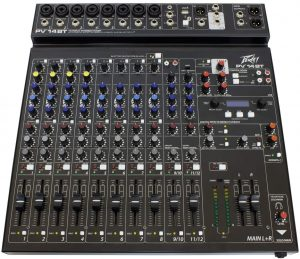 the peavy 14 channel compact mixer is one of the best dj mixing boards available on the market
