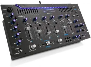 the pyle 6 channel mixer is one of the best dj mixing boards available on the market