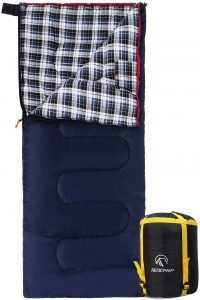 the redcamp cotton flannel sleeping bag is one of the bst sleeping bags for camping