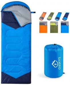 the oaskys 3-season sleeping bag is one of the bst sleeping bags for camping
