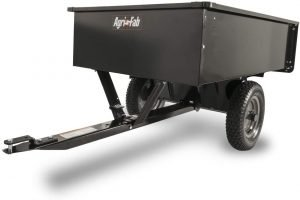the agri fab atv cart is one of the most popular atv utility carts available