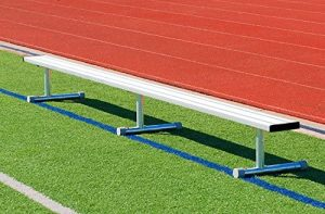 the BSN sports portable bleachers are some of the best portable bleachers available