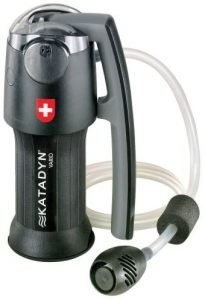 the katadyn portable water filter is one of the best portable water filters available