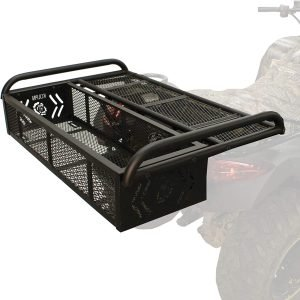 the kolpin 3-in-1 atv rear storage box is one of the best and most popular atv rear storage options available
