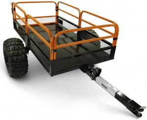 the moto alliance atv cart is one of the most popular atv utility carts available