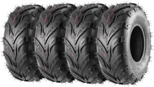 the pack of 4 sport 4 wheeler tires are some of the best atv tires available