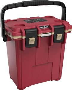the pelican 20 quart portable cooler is one of the best portable ice chests available