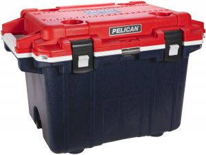 the pelican 50 quart portable cooler is one of the best portable ice chests available