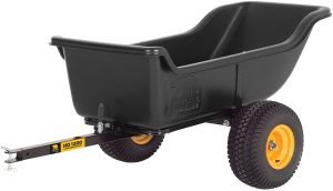 the polar trailer heavy duty atv cart is one of the most popular atv utility carts available
