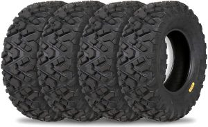 the weize all terrain 4 wheeler tires are some of the best atv tires available