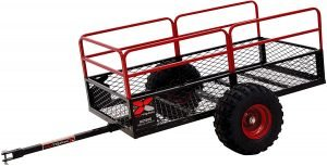 the yutrax atv cart is one of the most popular atv utility carts available