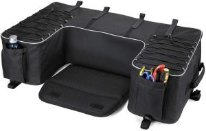 the kemimoto atv rear storage box is one of the best and most popular atv rear storage options available