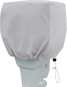 the primeshield outboard motor cover is one of the best trolling motor covers available